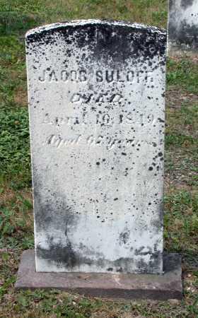 SULOFF, JACOB - Juniata County, Pennsylvania | JACOB SULOFF - Pennsylvania Gravestone Photos