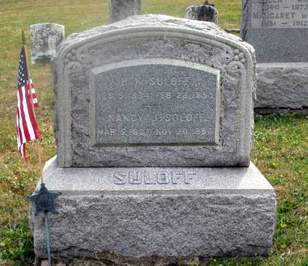 SULOFF, P. K. - Juniata County, Pennsylvania | P. K. SULOFF - Pennsylvania Gravestone Photos