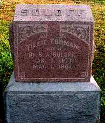 SULOFF, TILLIE FOREMAN - Juniata County, Pennsylvania | TILLIE FOREMAN SULOFF - Pennsylvania Gravestone Photos