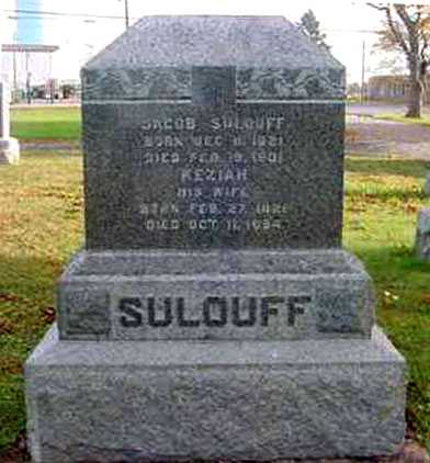 KISER SULOUFF, KEZIAH - Juniata County, Pennsylvania | KEZIAH KISER SULOUFF - Pennsylvania Gravestone Photos