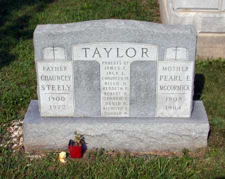 TAYLOR, CHAUNCEY STEELY - Juniata County, Pennsylvania | CHAUNCEY STEELY TAYLOR - Pennsylvania Gravestone Photos
