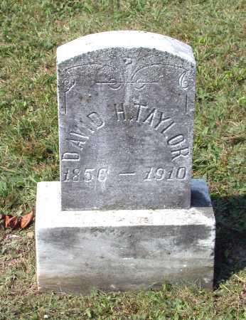 TAYLOR, DAVID H. - Juniata County, Pennsylvania | DAVID H. TAYLOR - Pennsylvania Gravestone Photos