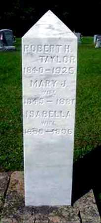 TAYLOR, ISABELLA - Juniata County, Pennsylvania | ISABELLA TAYLOR - Pennsylvania Gravestone Photos