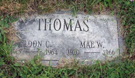 THOMAS, MAE - Juniata County, Pennsylvania | MAE THOMAS - Pennsylvania Gravestone Photos