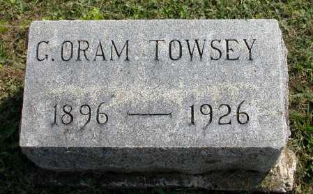 TOWSEY, G. ORAM - Juniata County, Pennsylvania | G. ORAM TOWSEY - Pennsylvania Gravestone Photos