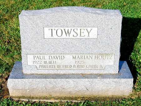 HOUTZ TOWSEY, MARIAN RUTH - Juniata County, Pennsylvania | MARIAN RUTH HOUTZ TOWSEY - Pennsylvania Gravestone Photos