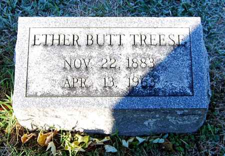 BUTT TREESE, ETHER - Juniata County, Pennsylvania | ETHER BUTT TREESE - Pennsylvania Gravestone Photos