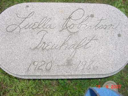 ROBERTSON TREUHAFT, LUELLA - Juniata County, Pennsylvania | LUELLA ROBERTSON TREUHAFT - Pennsylvania Gravestone Photos
