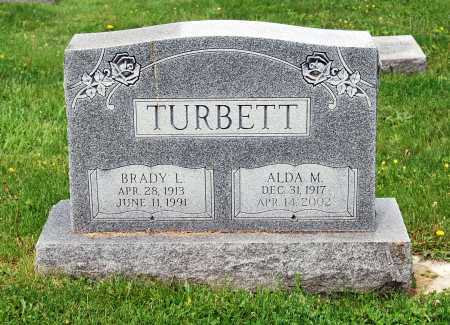BOWERS TURBETT, ALDA MAE - Juniata County, Pennsylvania | ALDA MAE BOWERS TURBETT - Pennsylvania Gravestone Photos