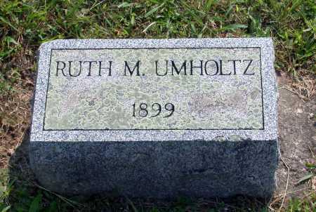 UMHOLTZ, RUTH M. - Juniata County, Pennsylvania | RUTH M. UMHOLTZ - Pennsylvania Gravestone Photos