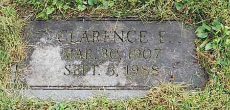 (UNKNOWN), CLARENCE E. - Juniata County, Pennsylvania | CLARENCE E. (UNKNOWN) - Pennsylvania Gravestone Photos