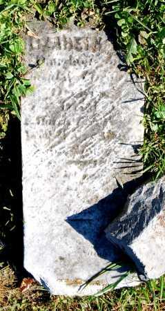 (UNKNOWN), ELIZABETH ANN - Juniata County, Pennsylvania | ELIZABETH ANN (UNKNOWN) - Pennsylvania Gravestone Photos