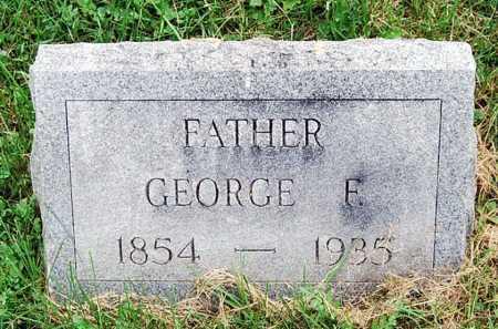 (UNKNOWN), GEORGE F. - Juniata County, Pennsylvania | GEORGE F. (UNKNOWN) - Pennsylvania Gravestone Photos