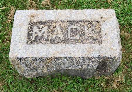(UNKNOWN), MACK - Juniata County, Pennsylvania | MACK (UNKNOWN) - Pennsylvania Gravestone Photos