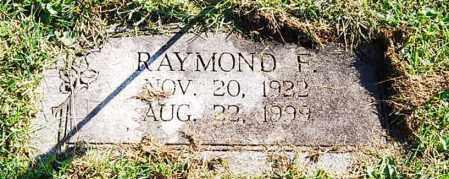 (UNKNOWN), RAYMOND F. - Juniata County, Pennsylvania | RAYMOND F. (UNKNOWN) - Pennsylvania Gravestone Photos
