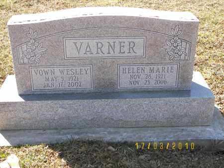 AUKER VARNER, HELEN MARIE - Juniata County, Pennsylvania | HELEN MARIE AUKER VARNER - Pennsylvania Gravestone Photos