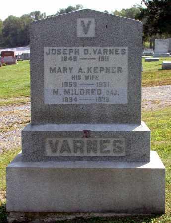 VARNES, MARY ALICE - Juniata County, Pennsylvania   MARY ALICE VARNES - Pennsylvania Gravestone Photos