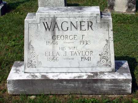 WAGNER, ELLA J. - Juniata County, Pennsylvania | ELLA J. WAGNER - Pennsylvania Gravestone Photos