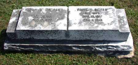 WAGNER, ANNIE - Juniata County, Pennsylvania | ANNIE WAGNER - Pennsylvania Gravestone Photos