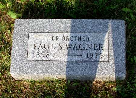 WAGNER, PAUL S. - Juniata County, Pennsylvania | PAUL S. WAGNER - Pennsylvania Gravestone Photos