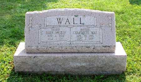 WALL, JOHN WESLEY - Juniata County, Pennsylvania   JOHN WESLEY WALL - Pennsylvania Gravestone Photos