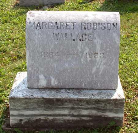ROBISON WALLACE, MARGARET FOUST - Juniata County, Pennsylvania | MARGARET FOUST ROBISON WALLACE - Pennsylvania Gravestone Photos