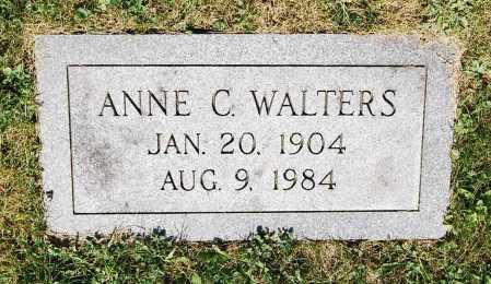 WALTERS, ANNE C. - Juniata County, Pennsylvania   ANNE C. WALTERS - Pennsylvania Gravestone Photos