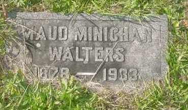MINICHAN WALTERS, MAUDE - Juniata County, Pennsylvania | MAUDE MINICHAN WALTERS - Pennsylvania Gravestone Photos