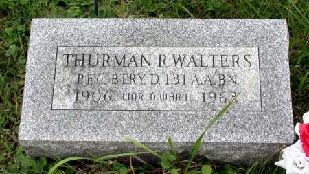 WALTERS, THURMAN R. - Juniata County, Pennsylvania | THURMAN R. WALTERS - Pennsylvania Gravestone Photos