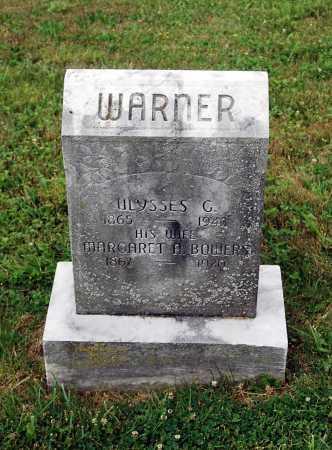 BOWERS WARNER, MARGARET A. - Juniata County, Pennsylvania | MARGARET A. BOWERS WARNER - Pennsylvania Gravestone Photos