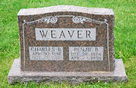 BOWMAN WEAVER, BENJIE - Juniata County, Pennsylvania | BENJIE BOWMAN WEAVER - Pennsylvania Gravestone Photos