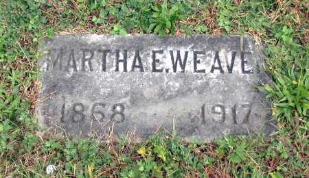 WEAVER, MARTHA E. - Juniata County, Pennsylvania   MARTHA E. WEAVER - Pennsylvania Gravestone Photos