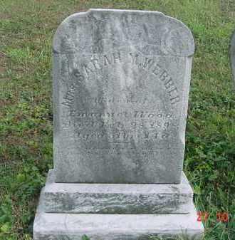 WOOD, SARAH M. - Juniata County, Pennsylvania | SARAH M. WOOD - Pennsylvania Gravestone Photos