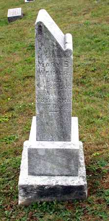 WEIMER, MARY - Juniata County, Pennsylvania   MARY WEIMER - Pennsylvania Gravestone Photos