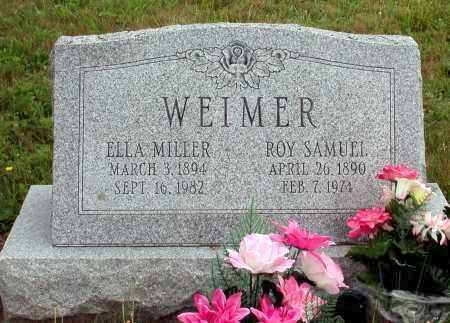 WEIMER, ROY SAMUEL - Juniata County, Pennsylvania | ROY SAMUEL WEIMER - Pennsylvania Gravestone Photos