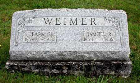 WEIMER, CLARA BELLE - Juniata County, Pennsylvania | CLARA BELLE WEIMER - Pennsylvania Gravestone Photos