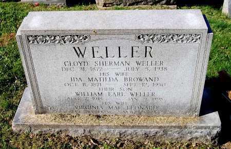 BROWAND WELLER, IDA MATILDA - Juniata County, Pennsylvania   IDA MATILDA BROWAND WELLER - Pennsylvania Gravestone Photos