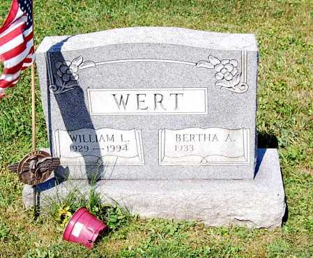 RAMSEY WERT, BERTHA ARLENE - Juniata County, Pennsylvania | BERTHA ARLENE RAMSEY WERT - Pennsylvania Gravestone Photos
