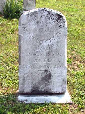 WETZLER, LAWRENCE - Juniata County, Pennsylvania | LAWRENCE WETZLER - Pennsylvania Gravestone Photos