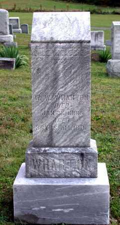 WHARTON, WILLIAM WOODS - Juniata County, Pennsylvania | WILLIAM WOODS WHARTON - Pennsylvania Gravestone Photos