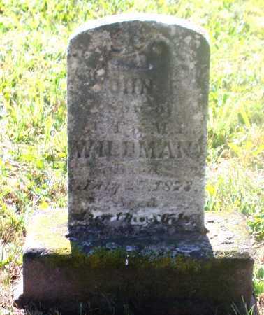 WILEMAN, JOHN F. - Juniata County, Pennsylvania | JOHN F. WILEMAN - Pennsylvania Gravestone Photos