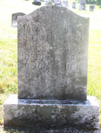 WILEMAN, JOSEPH F. - Juniata County, Pennsylvania | JOSEPH F. WILEMAN - Pennsylvania Gravestone Photos
