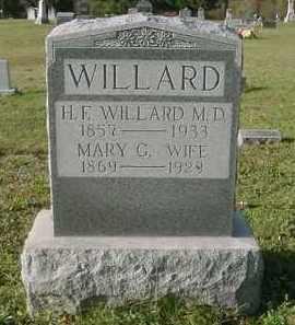 WILLARD, MARY G. - Juniata County, Pennsylvania | MARY G. WILLARD - Pennsylvania Gravestone Photos