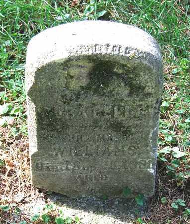 WILLIAMS, (UNKNOWN) - Juniata County, Pennsylvania | (UNKNOWN) WILLIAMS - Pennsylvania Gravestone Photos