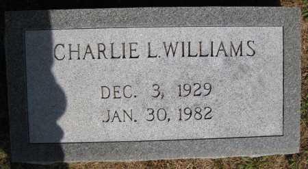 WILLIAMS, CHARLIE L. - Juniata County, Pennsylvania | CHARLIE L. WILLIAMS - Pennsylvania Gravestone Photos