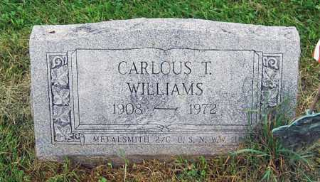 WILLIAMS, CARLOUS T. - Juniata County, Pennsylvania | CARLOUS T. WILLIAMS - Pennsylvania Gravestone Photos