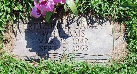 WILLIAMS, FREDERICK JAMES - Juniata County, Pennsylvania | FREDERICK JAMES WILLIAMS - Pennsylvania Gravestone Photos