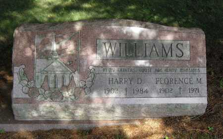 WILLIAMS, FLORENCE M. - Juniata County, Pennsylvania | FLORENCE M. WILLIAMS - Pennsylvania Gravestone Photos