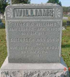 WILLIAMS, JAMES D. - Juniata County, Pennsylvania | JAMES D. WILLIAMS - Pennsylvania Gravestone Photos