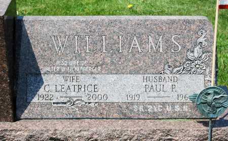"WILLIAMS, CAROL LEATRICE ""LEETS"" - Juniata County, Pennsylvania | CAROL LEATRICE ""LEETS"" WILLIAMS - Pennsylvania Gravestone Photos"